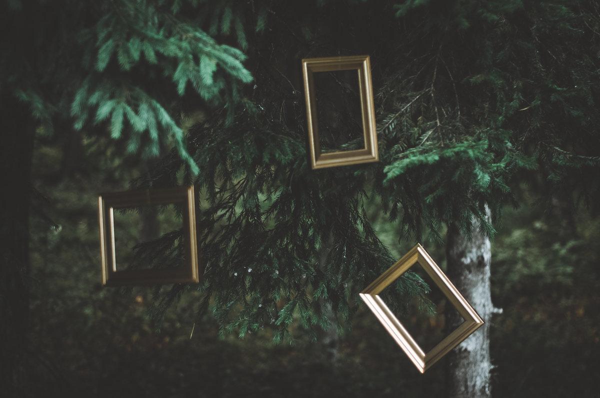 Rāmji zeltītā krāsā, 23x18cm