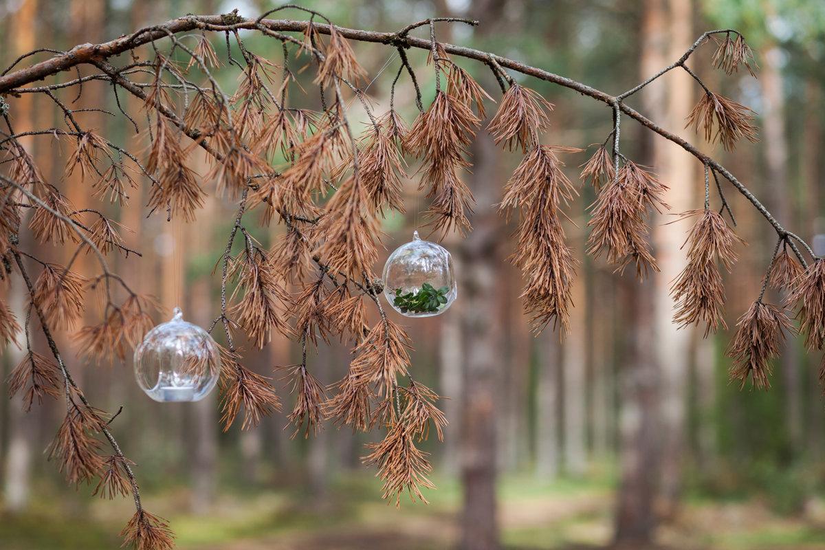Stikla bumbas - burbuļi