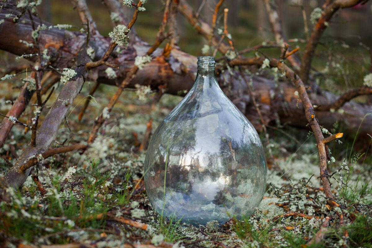 Stikla vīna balons/trauks, lielais