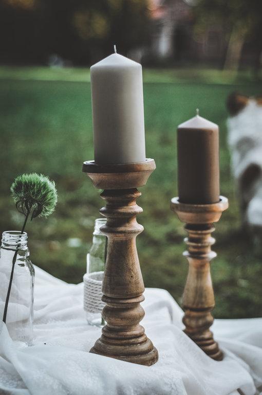 Virpoti koka svečturi