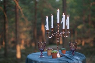 Svečturis 5 svecēm
